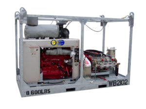Water Blasting Rental Equpiment, Diesel Water Jetting, Offshore Power Sprayers